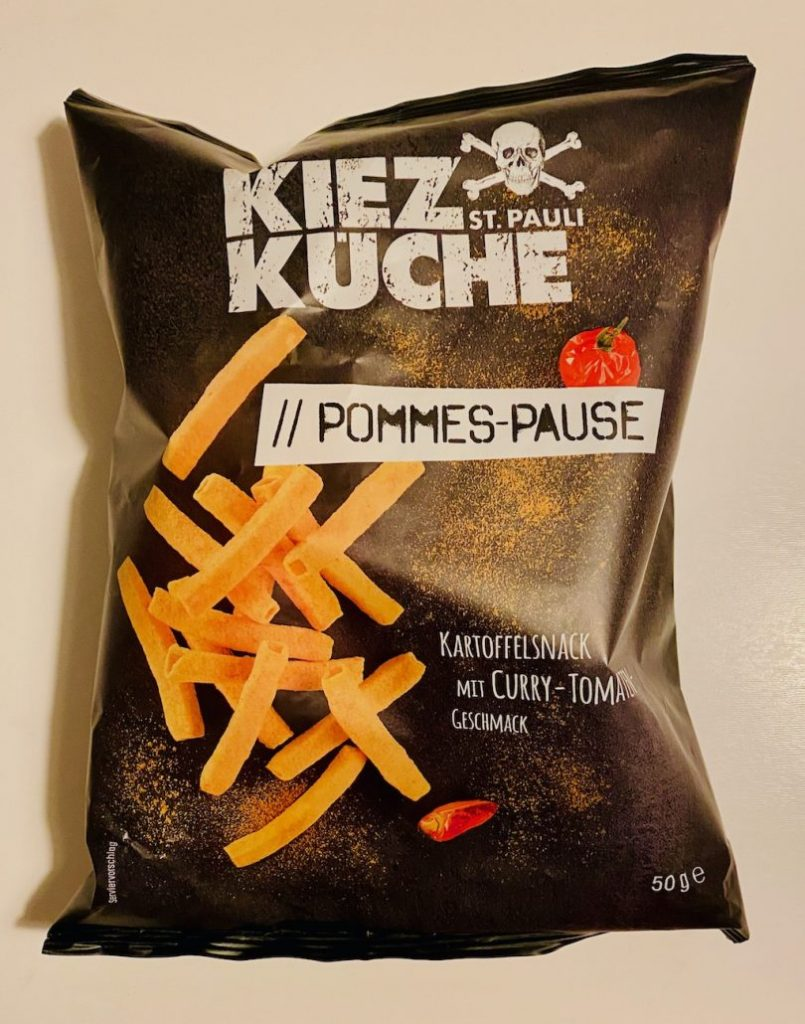 KiezKüche St Pauli Pommes-Pause Kartoffelsnack 50G