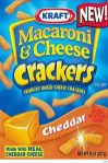 Kraft Mac+Cheese Crackers Cheddar 227G