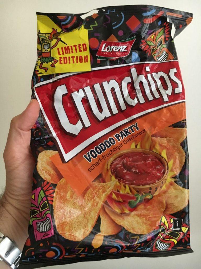 Lorenz Crunchips Limited Edition Voodoo Party scharf-fruchtig