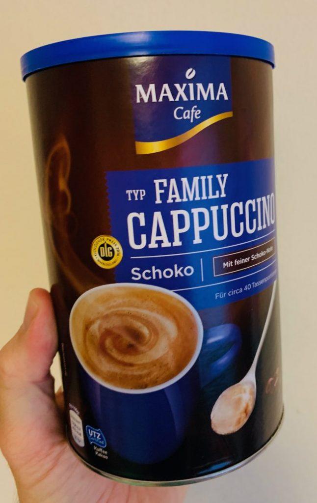 Maxima Café Typ Family Cappuccino Schoko Rundose