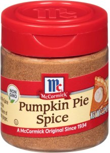 Mc Cormick Pumpkin Pie Spice