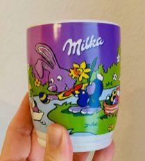 Milka Kaffeebecher Ostern mit Osterhase