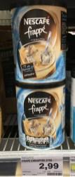 Nescafé frappé Pulver Typ Eiskaffee Runddose