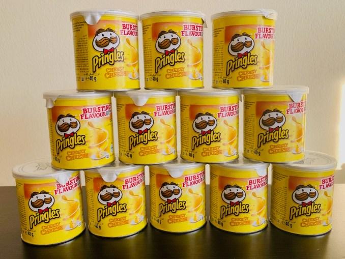 Pringles Cheese Cheese Minis