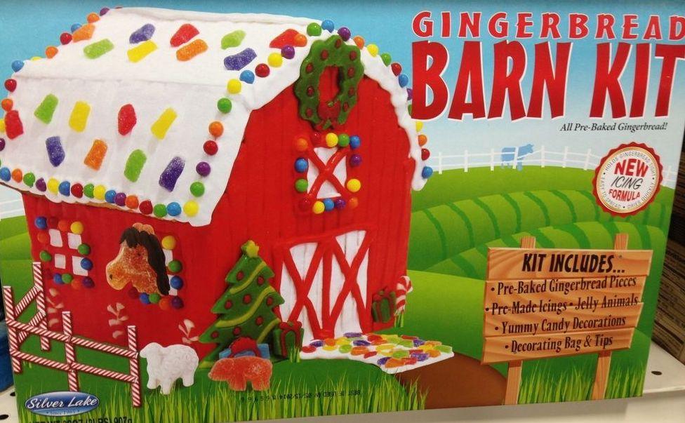 Silver Lake Gingerbread Barn Kit 907G