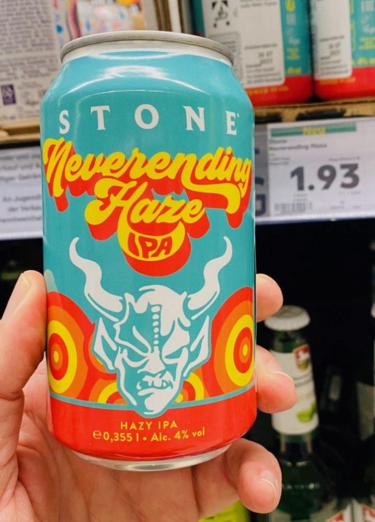Stone Bier Hazy IPA Neverending Haze 355ML