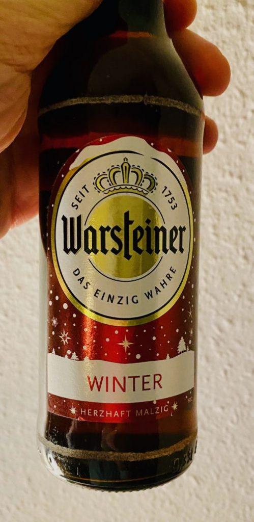 Warsteiner Winterbier Herzhaft Malzig 2020
