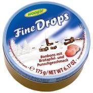 Woogie Fine Drops Bratapfel und Punschgeschmack 175g Runddose