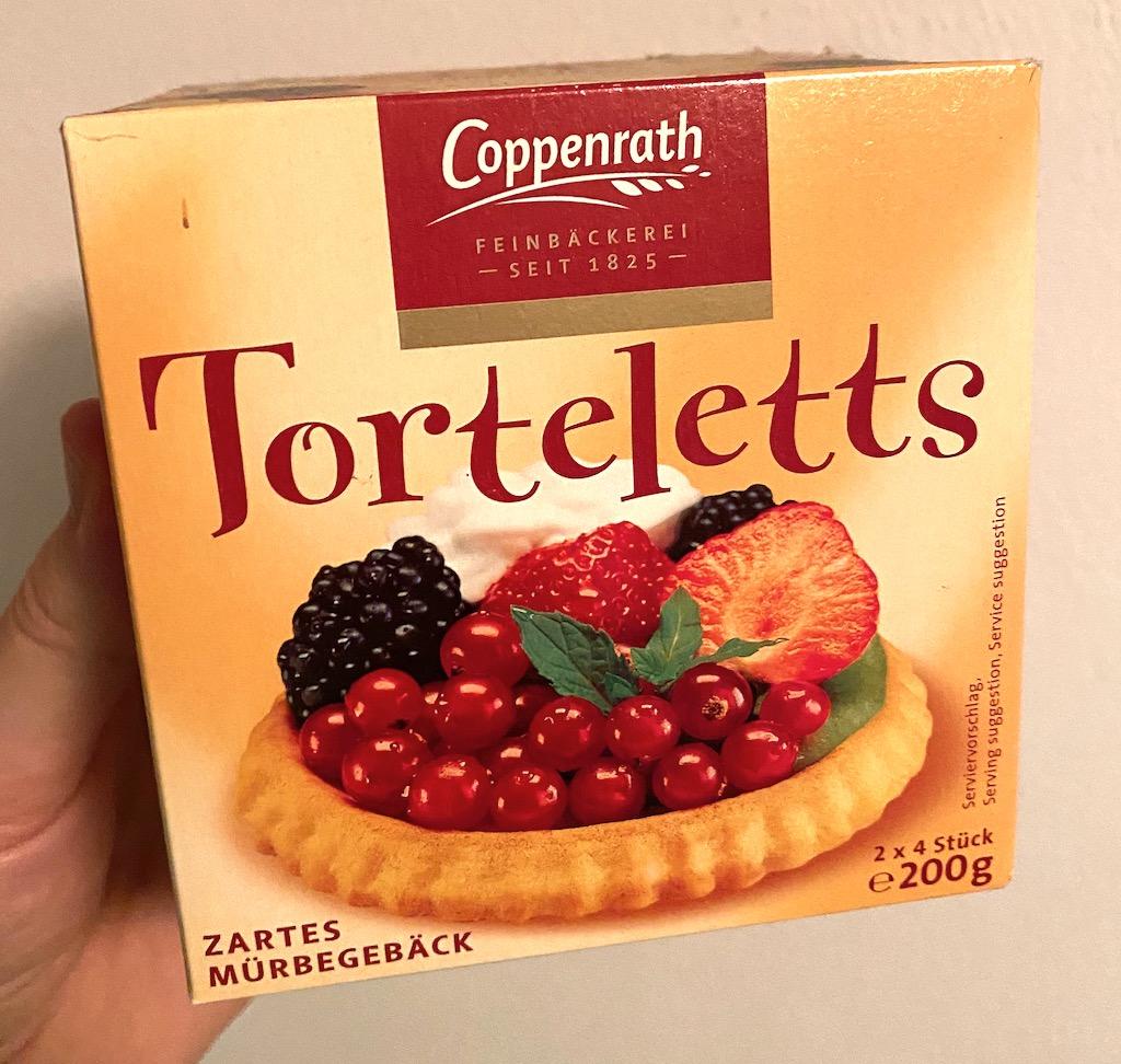 Coppenrath Torteletts Zartes Mürbegebäck 8er 200G