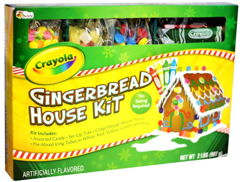 Crayola Gingerbread House Kit