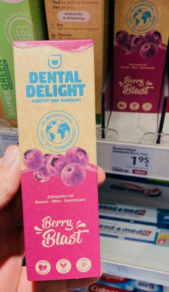 Dental Delight Berry Blast Zahncreme