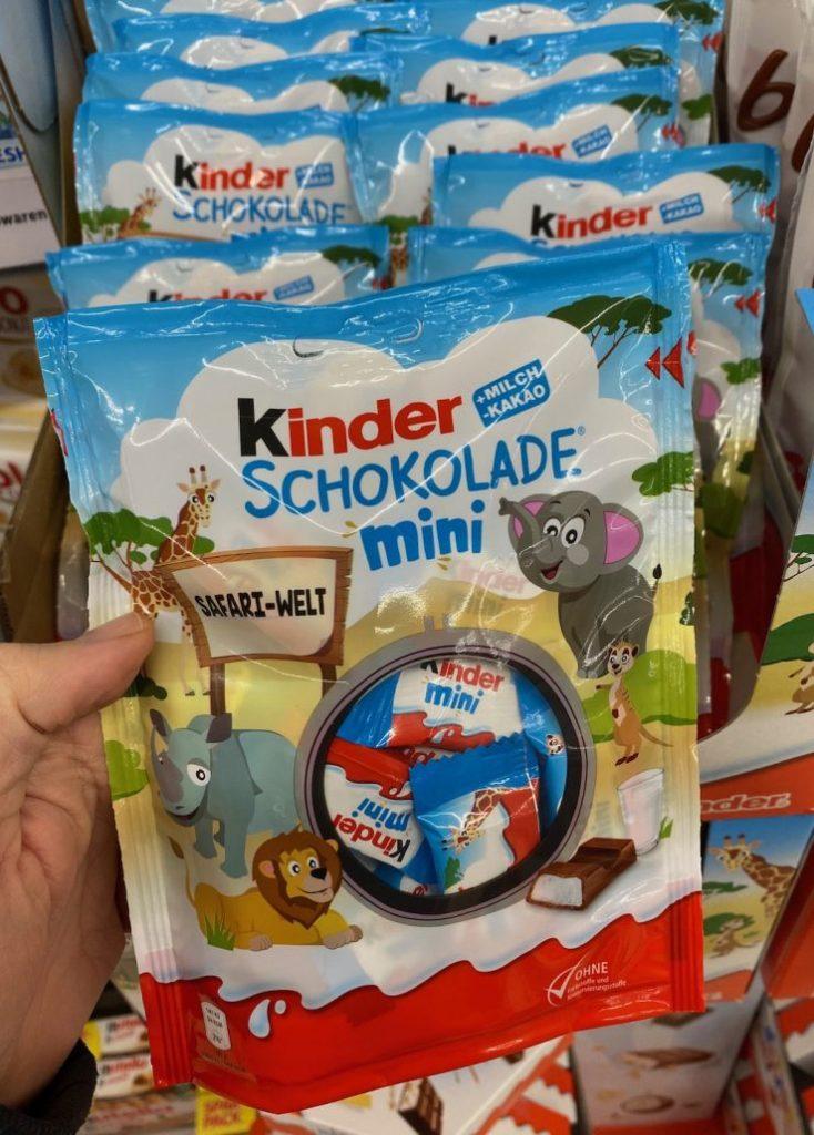 Ferrero KINDER Schokolade Mini Safari-Welt