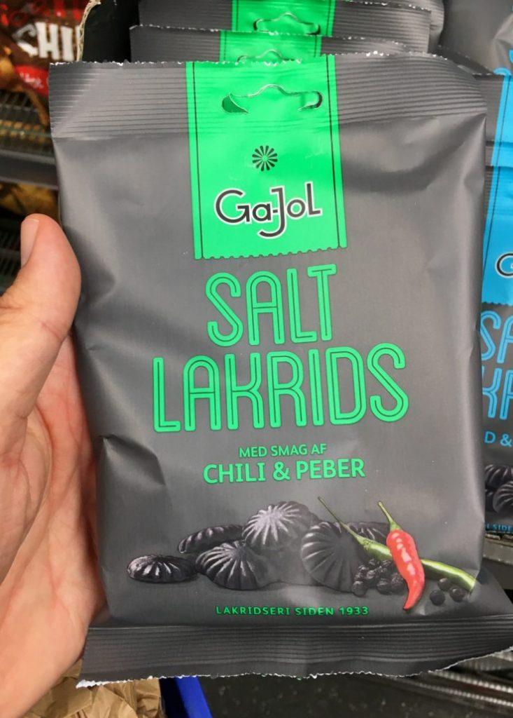Ga-Jol Salt Lakrids Chili+Peber Lakritz