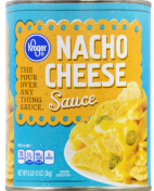Kroger Nacho Cheese Sauce The Pour Over any Thing Sauce 3000G