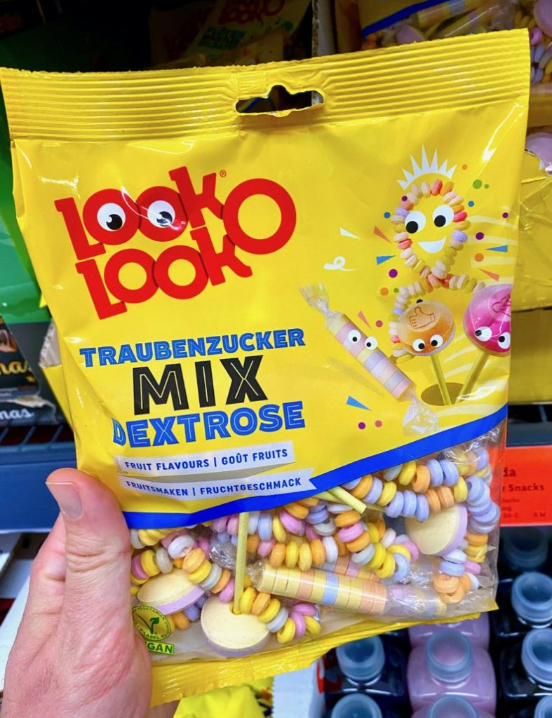 Look-O-Look Traubenzucker Mix Dextrose