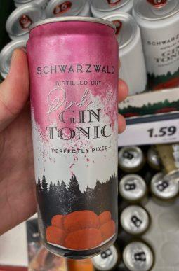 Schwarzwald Pink Gin Tonic Dose