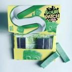 Sour Patch Kids Lime Kaugummi offen