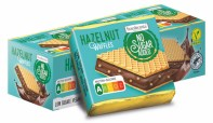 Frankonia No Sugar added Hazelnut Waffles Hanuta Nutri-Score