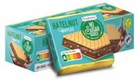Frankonia No Sugar added Hazelnut Waffles Hanuta Nutri-Score