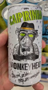 Monkey Head Caipirinha Cocktail Dose