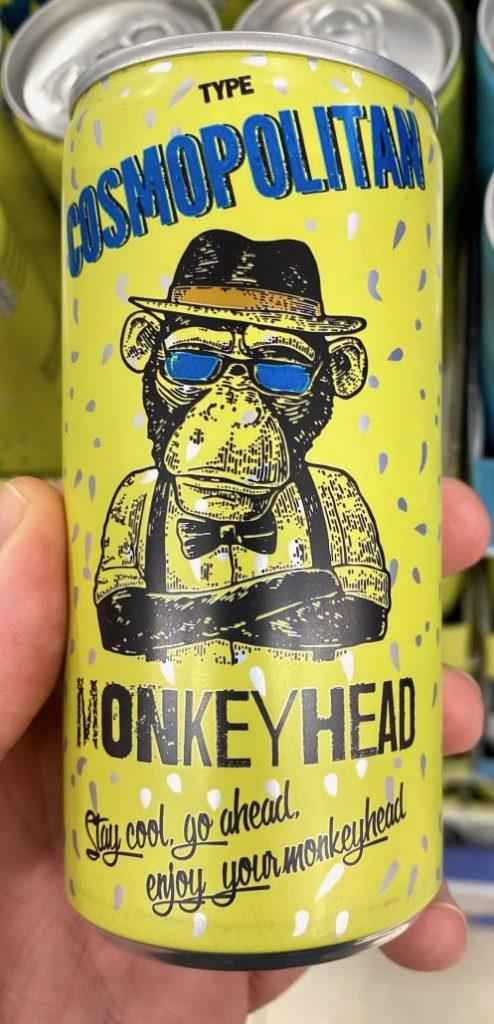 Monkey Head Cosmopolitan Drink Dose