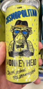 Monkey Head Cosmopolitan Drink Dose