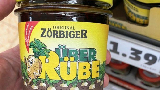 Original Zörbiger ÜberRübe Rübensaft Glas
