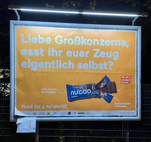 Plakat Kampagne Nucao