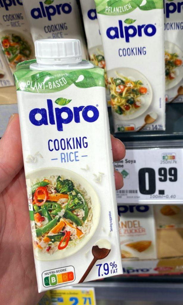 Alpro Cooking Rice Nutri-Score