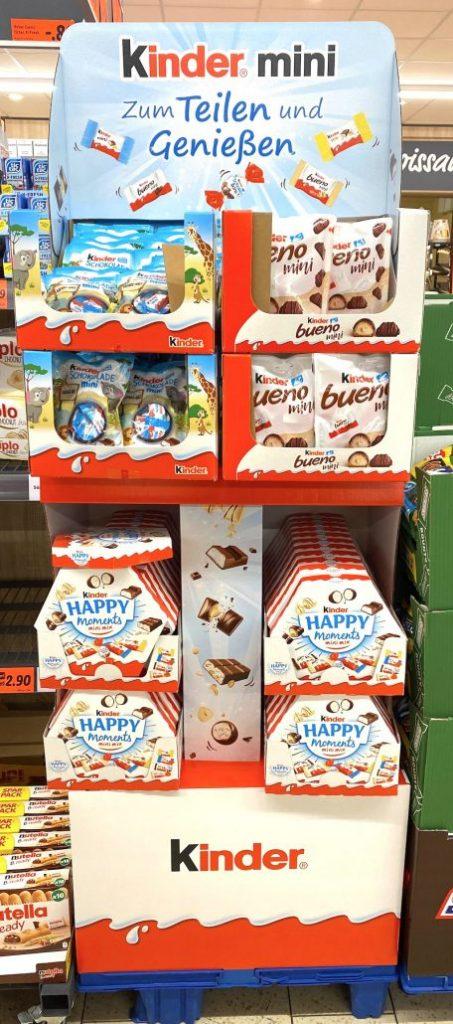 Ferrero Kinder Mini Display