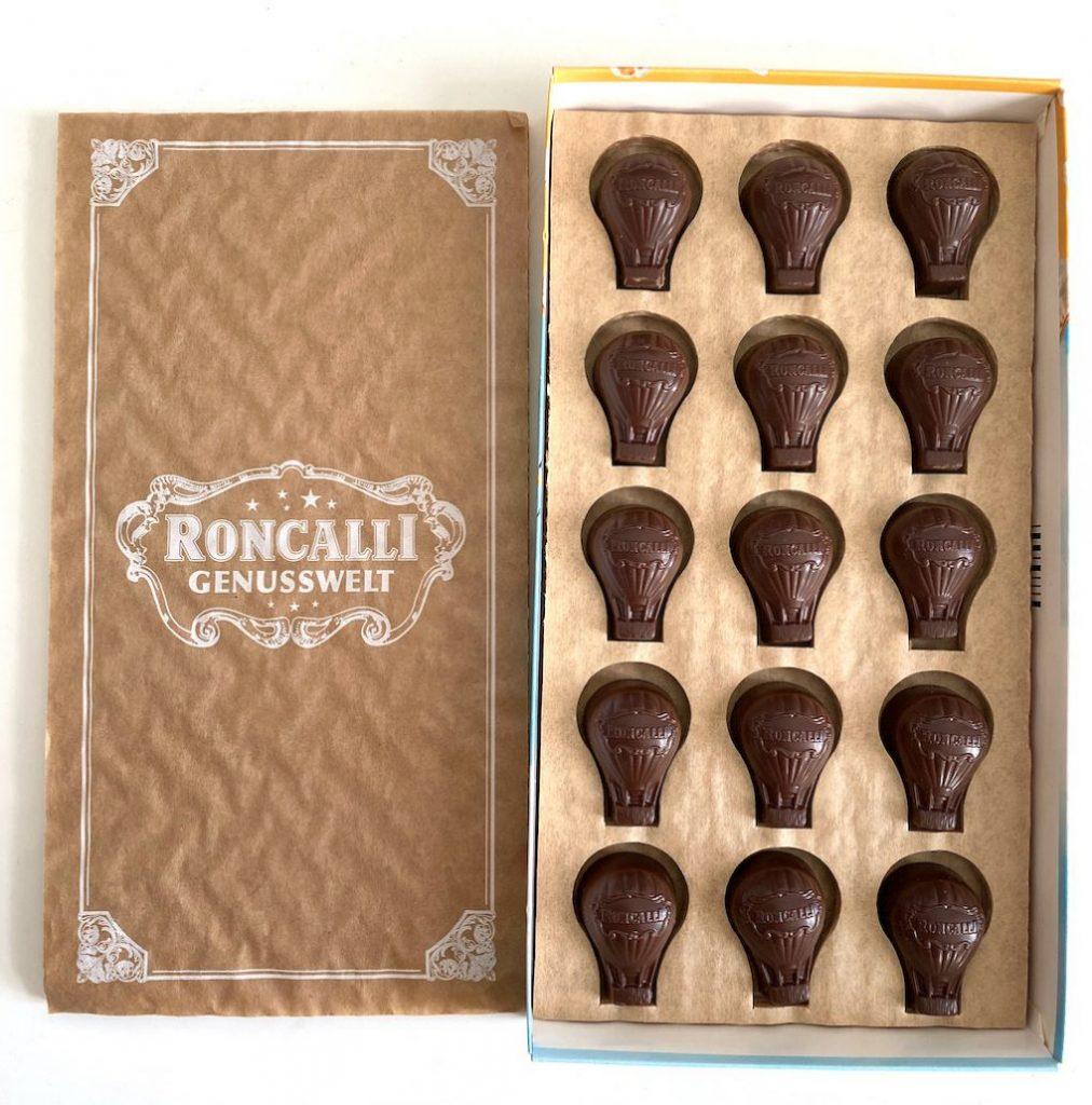 Piasten Roncalli Genusswelt Pralinen Popcorn