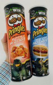 Pringles Buffalo Wings-new York Hot Dog 200G