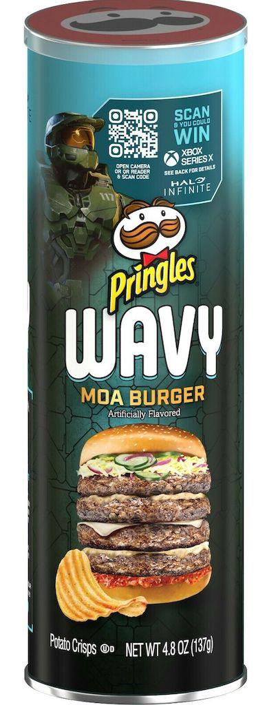 Pringles Wavy Moa Burger 137G