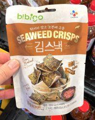 b!bigo Seaweed Crisps BBQ Asiatische Algenchips 20G