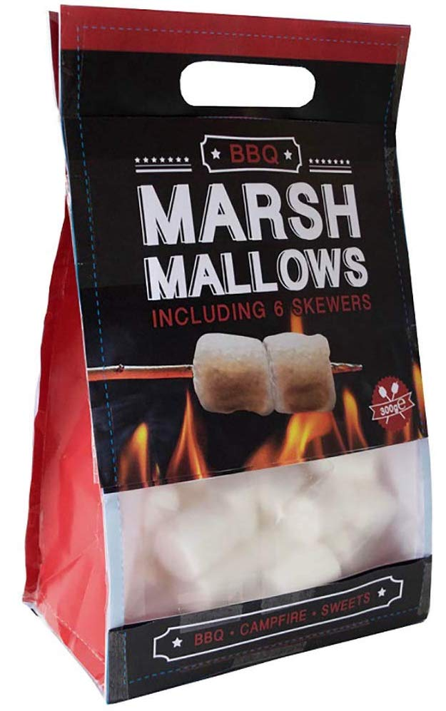 BBQ Marshmallow Set mit 6 Stäbchen