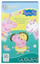 Kinnerton Nut Safe Promies Milk Chocolate Easter Egg and Bar Peppa Pig