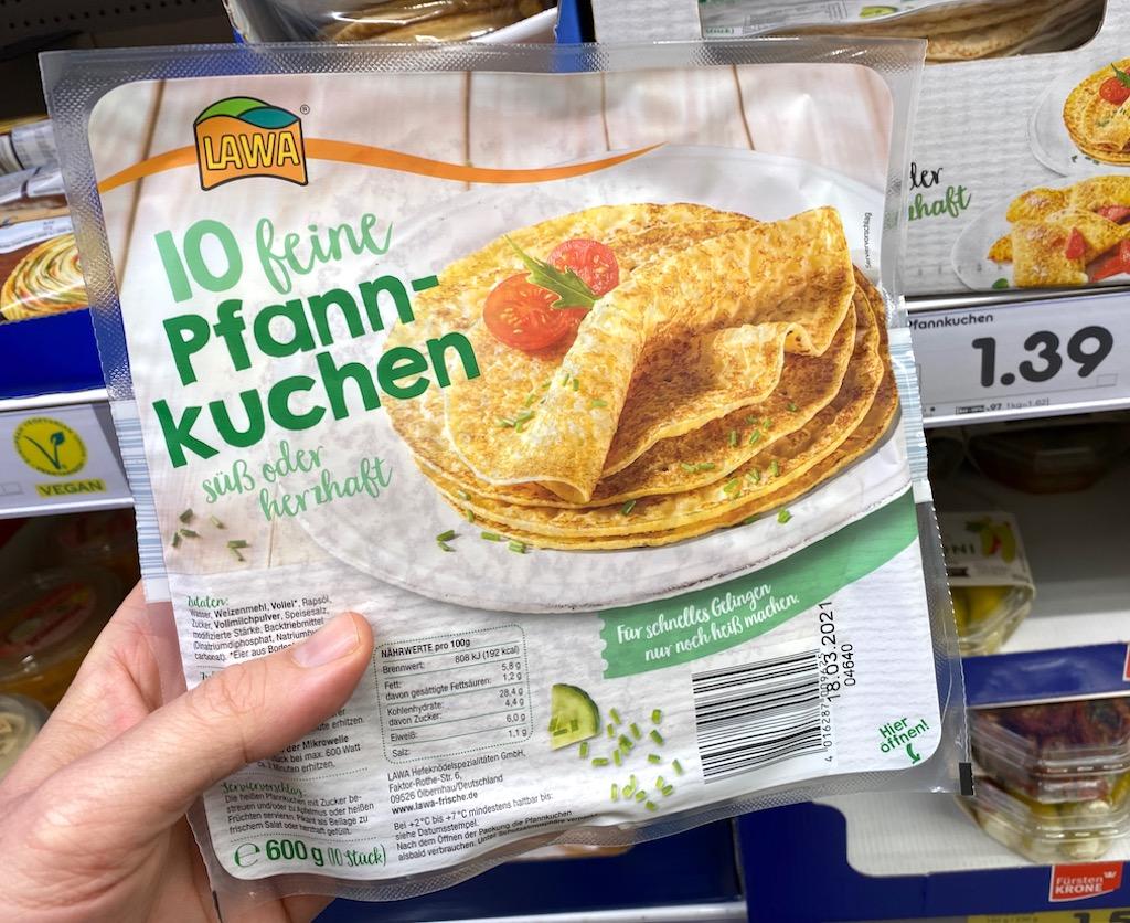 Lawa 10 feine Pfannkuchen 600G
