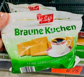 Maafs Lübecker Feingebäck Braune Kuchen