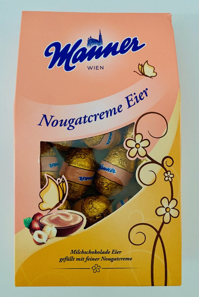 Manner Nougatcreme Eier Ostern 2021