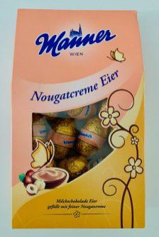 Manner Nougatcreme Eier Ostern 2021