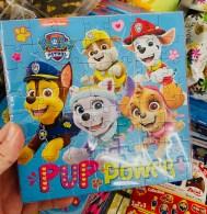 Nickelodeon Paw Patrol Pup Power Puzzle mit Schokolade