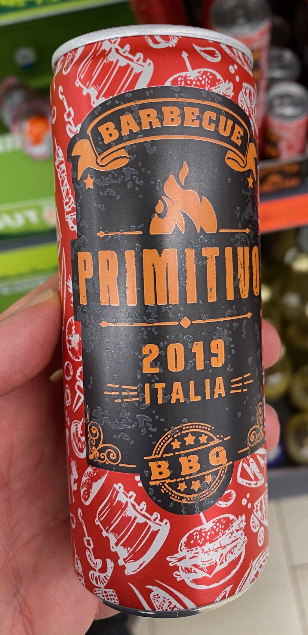Barbecue Primitivo 2019 Italia BBQ Getränkedose