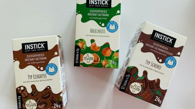 Instick Instant-Getränke Typ Eiskaffee-Haselnuss-Typ Schoko