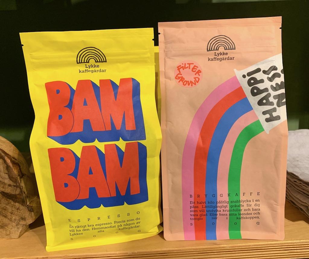 Lykke kaffegardar Bam Bam Espresso-Bryggkaffee