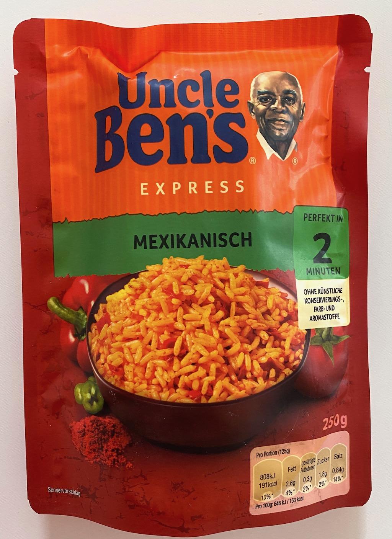 Mars Uncle Ben's Express Mexikanisch