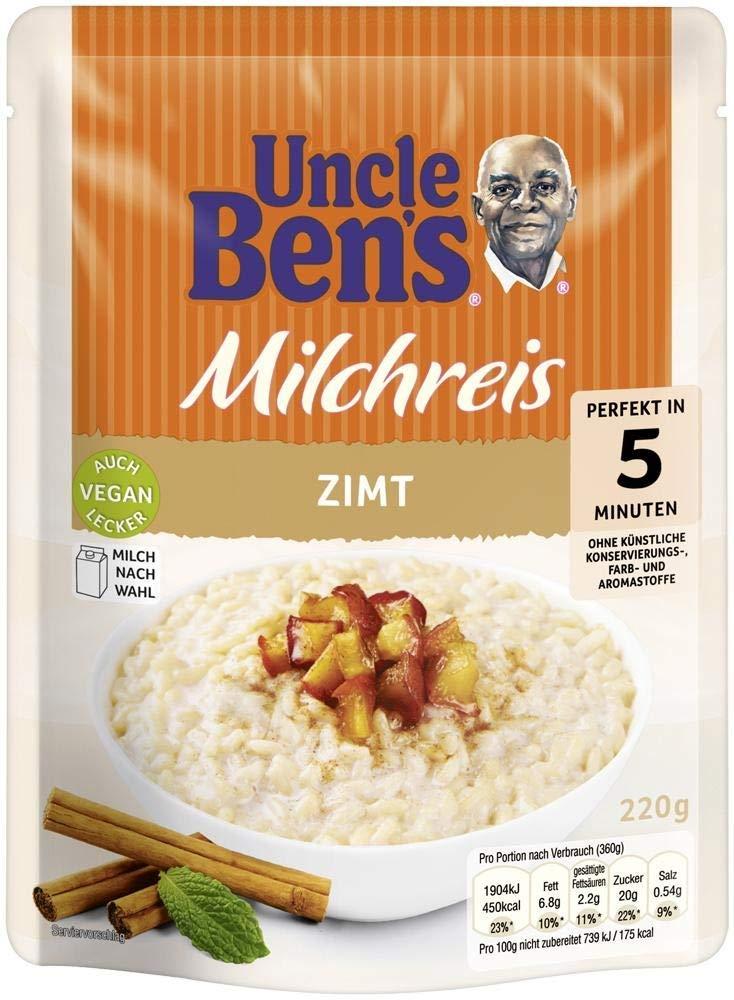 Mars Uncle Ben's Milchreis mit Zimt 220G
