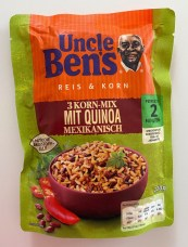 Mars Uncle Ben's Reis+Korn 3-Korn-Mix mit Quinoa Mexikanisch 220G