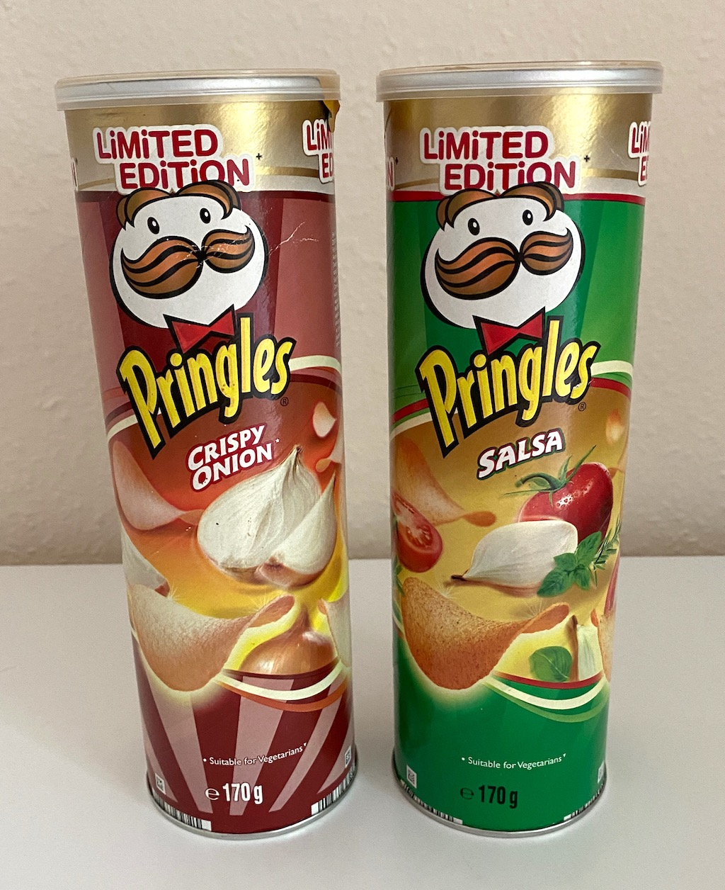 Pringles Limited Edition 2009 Crispy Onion-Salsa 170G