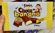 Choco Life Choco banana Schokobananen 53% Kakava 238G
