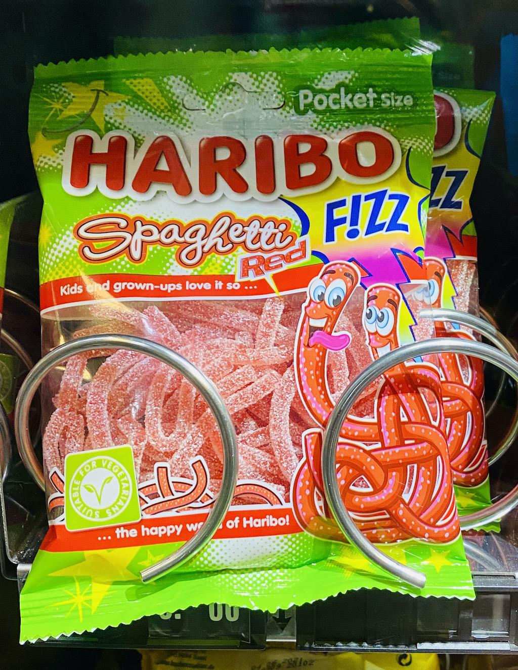 Haribo Spaghetti Red FiZZ Automat